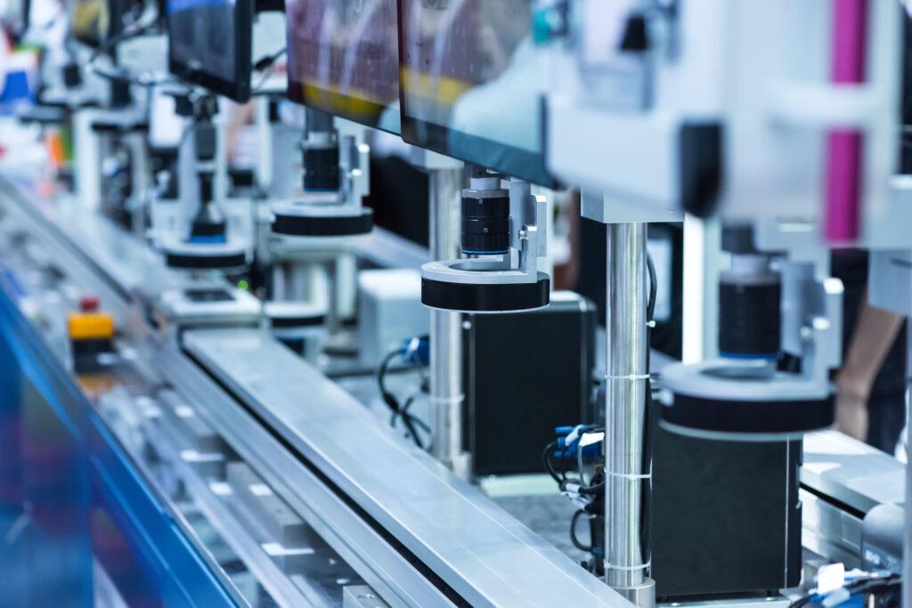 Robotic machine vision system on Production Line | Sci Mech