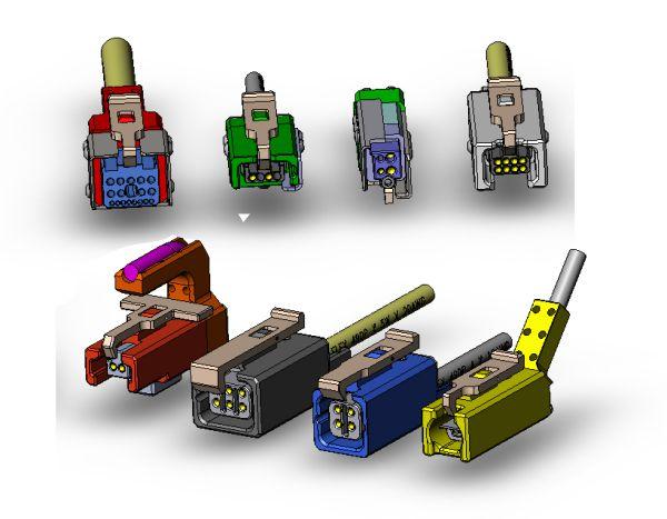 Custom High-Use test connectors | Sci-Mech